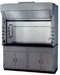 Pillar Lights used in Fume Hoods