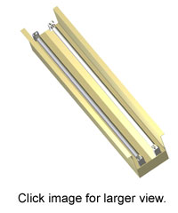 ST230 5 inch strip light by Pillar Lighting.